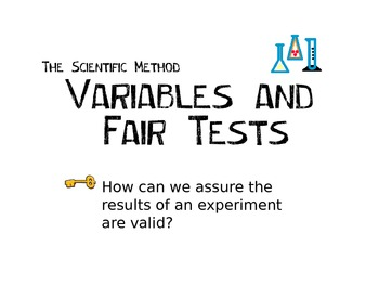 Variables and Fair Tests PPT