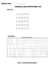 Variables and Proportions Test KPREP Format