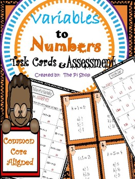 Variables in Equations {Scoot and Assessment}