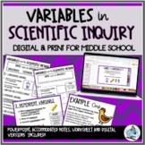 Variables in the Scientific Method - NO PREP