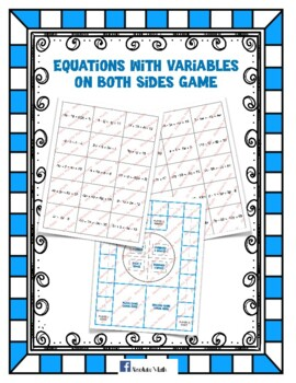 Variables on Both Sides Game