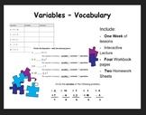 Variables (vocab)
