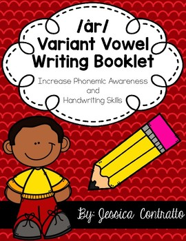 Variant Vowel AR {air, are, ear} Writing Book