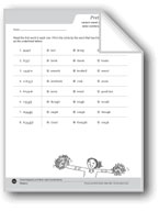 Variant Vowel Digraphs (oo) and Letter Combinations (ough)