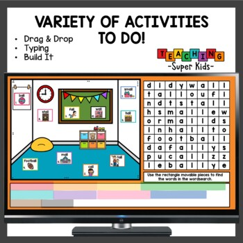 Variant Vowel Patterns -al, -all, and wa