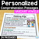 Variant Vowel Reading Passages: PERSONALIZED Comprehension with Class Sets