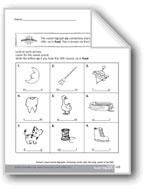 Variant Vowel Sound Digraphs: 'oo'