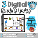 Variant Vowels OO:  Digital Reading Activities - Distance