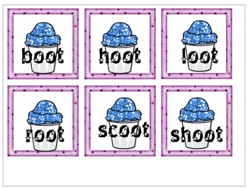 Variant Vowels Phonograms with long /oo/ sounds