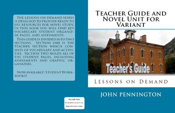 Variant by Robison Wells Teacher's Guide and Novel Unit