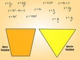 Variation Equation - Sorting Types