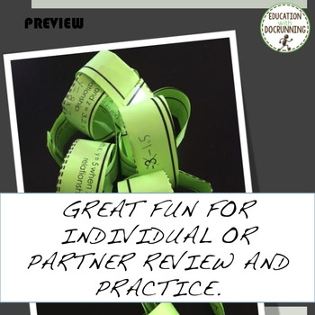 Variations Direct Inverse and Joint Variations Paper Chain Activity