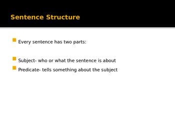 Varied Sentence Structure Powerpoint