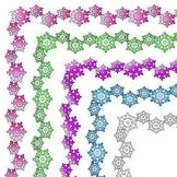Variegated Snowflake Frames