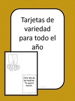 Variety Cards Seasonal Holidays Birthdays-Spanish