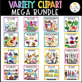 Variety Clipart Mega Bundle - Moveable Pieces - Clipart fo