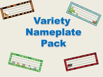 Variety Nameplate Pack