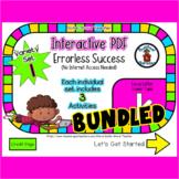 Variety Set #1 Bundle - Interactive PDF - Digital Activiti