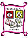 Variety Set #11 - Preschool - Early Kinder - Special Ed Friendly Resources - PbN