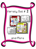 Variety Set #2 - Preschool - Early Kinder - Special Ed Friendly Resources - PbN
