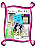 Variety Set #20 - Over 100 pieces in this Resource Set - Preschool  Kindergarten