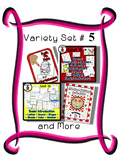 Variety Set #5 - Preschool - Early Kinder - Special Ed Friendly Resources - PbN