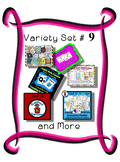 Variety Set #9 - Preschool - Early Kinder - Special Ed Friendly Resources - PbN