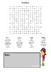 Variety Word Search Puzzles Worksheet Kids & Adults