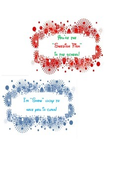 Variety of 4 Holiday Labels