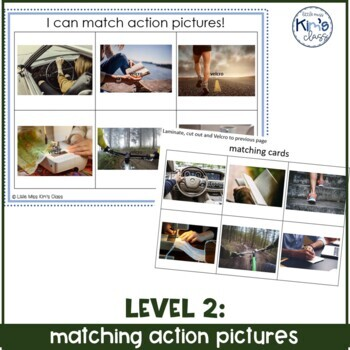 Differentiated Matching Activities for Special Needs/ Autism