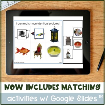 Differentiated Matching Activities for Special Needs