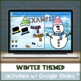 Variety of Digital Winter Activities with Google Slides™ f