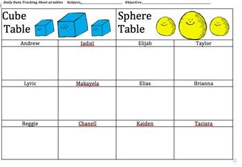 Student Data Tracking Sheets -EDITABLE-