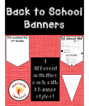 Various Back to School Banners