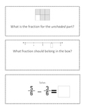 Various Fraction Task Cards