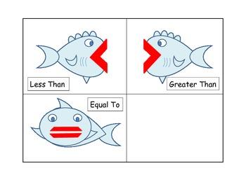 Various Math Activities:  Colors Goldfish Snack Theme