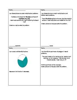 Various Third Grade Math Concepts