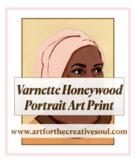 Varnette Honeywood Portrait Art Print