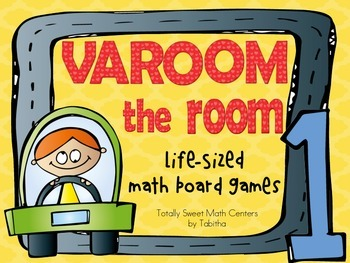 Varoom The Room- A Life-Sized board game for 1st grade