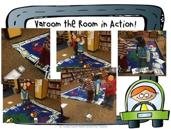 Varoom The Room- A Life-Sized board game for 2nd grade