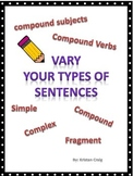 Vary Your Types of Sentences