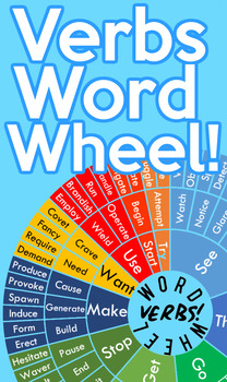 Vary Your Verbs Word Wheel!