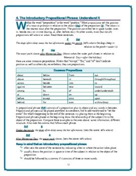 Sentence Variety—4 Methods for Varying Sentence Beginnings;Excellent Worksheets!
