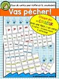 Vas Pêcher! - Jeu de cartes de vocabulaire (1&2)
