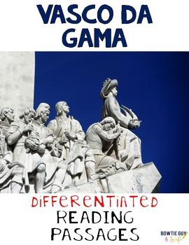 Vasco Da Gama Nonfiction Differentiated Reading Passages &