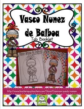 Vasco Nunez de Balboa Tab Booklet