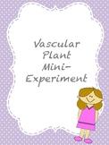 Vascular Plant Mini-Experiment