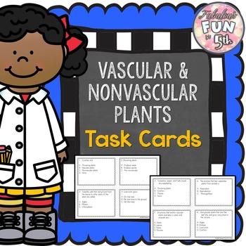 Vascular and Non Vascular Plants Task Cards