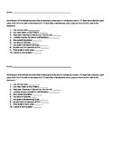 Vascular and Nonvascular Plants Worksheet