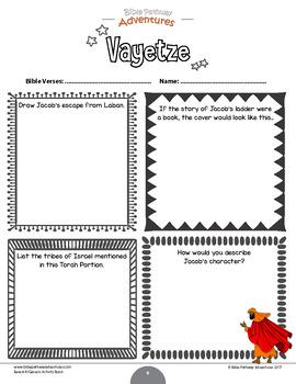 Vayetze (Genesis 28:10-32:3) Bible Quizzes and Activities Workbook